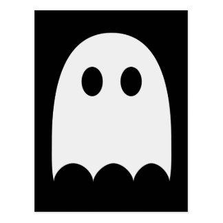 Little white ghost postcard