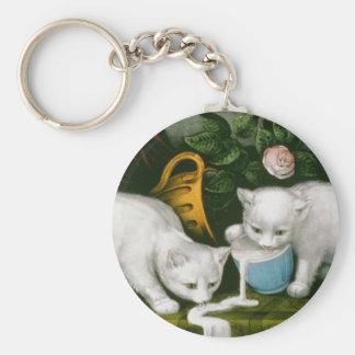 Little White Kitties - Into Mischief Keychains
