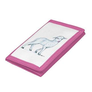 Little White Lamb Trifold Wallet