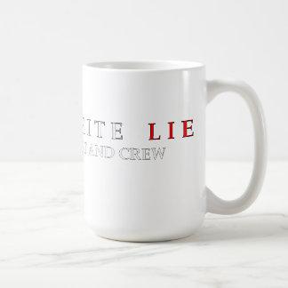 Little White Lie Production mug
