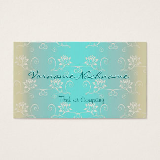 Little white Lotus Business Card