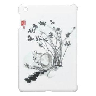 Little White Mouse iPad Mini Case