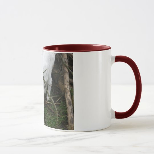 Little white mug