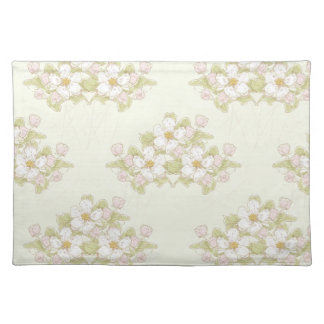 Little White Posies Cloth Placemat