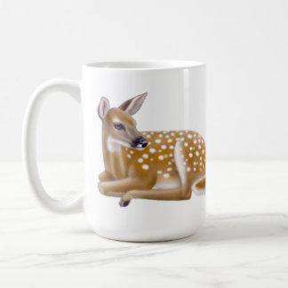 Little Whitetail Deer Fawn Mug