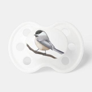 Little Wild Chickadee Bird Pacifier