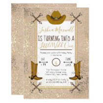 Little Wild One Western Arrows Birthday Party Invitation