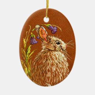 Little Wild Rabbit Ornament