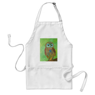 Little Wise Owl Adult Apron