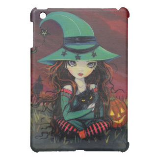 LIttle Witch and Black Cat iPad Case