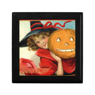 Little Witch and Pumpkin Halloween Giftbox Gift Box