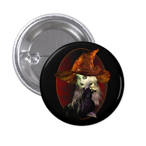 Little Witch Button