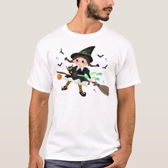 Little witch flying T-Shirt