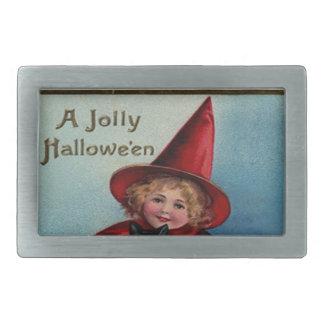 Little Witch Girl Belt Buckle