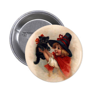 Little Witch Girl Pin