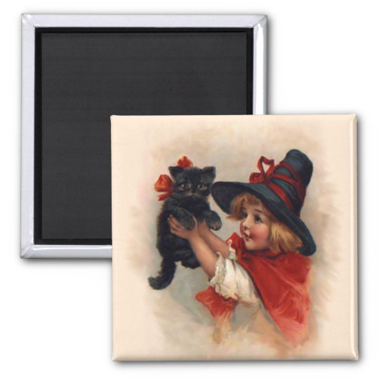Little Witch Girl Magnet