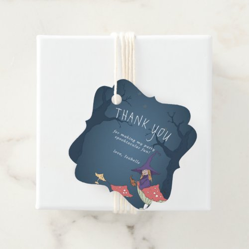 Little Witch | Halloween Favor Tags