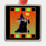 Little Witch Halloween Ornament
