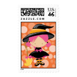 Little Witch Halloween Stamps