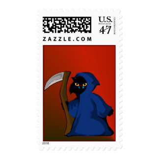 Little Witch Kitty  Postage