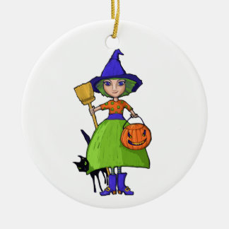 Little Witch Ornament