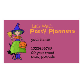 Little Witch plum Business Card