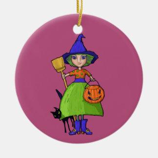 Little Witch plum Ornament