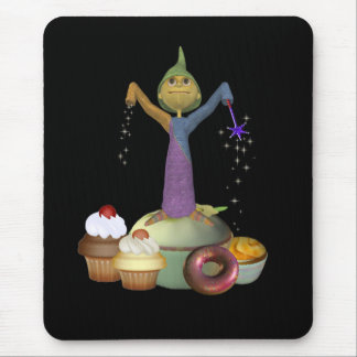Little Wizard Mouse Pad