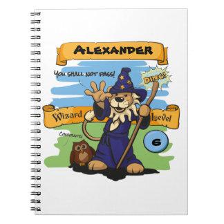 Little Wizard Spiral Notebook