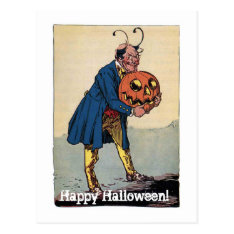 Little Wizard Stories Of Oz Halloween Postcard at Zazzle