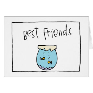 little wobblies best friends card