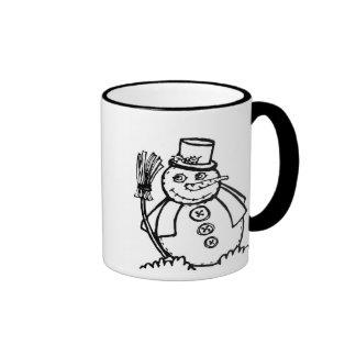 little wobblies christmas ringer mug
