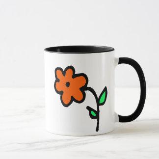 little wobblies flower mug