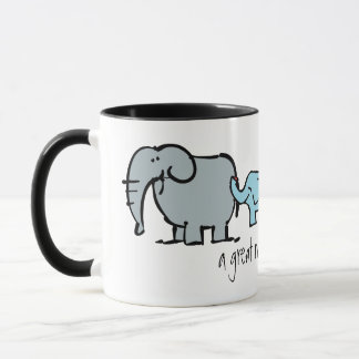 little wobblies gay elephant mothers day mug