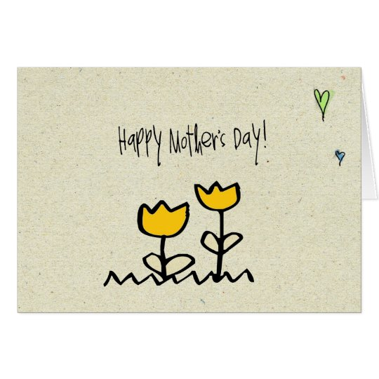 little wobblies happy mothers day card