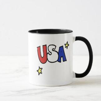 little wobblies USA Mug