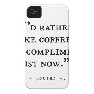 Little Women Quotes iPhone 4 Cover