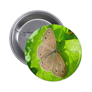 Little Wood Satyr Butterfly Coordinating Items Button