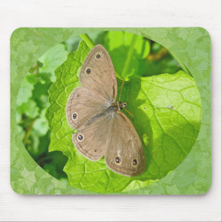 Little Wood Satyr Butterfly Coordinating Items Mousepad