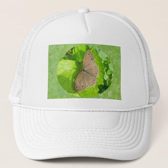 Little Wood Satyr Butterfly Coordinating Items Trucker Hat