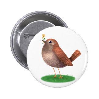 little wren button