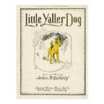 Little Yaller Dog Postcard