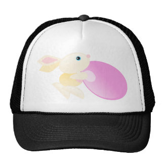 Little Yellow Baby Bunny - The Worker Mesh Hat