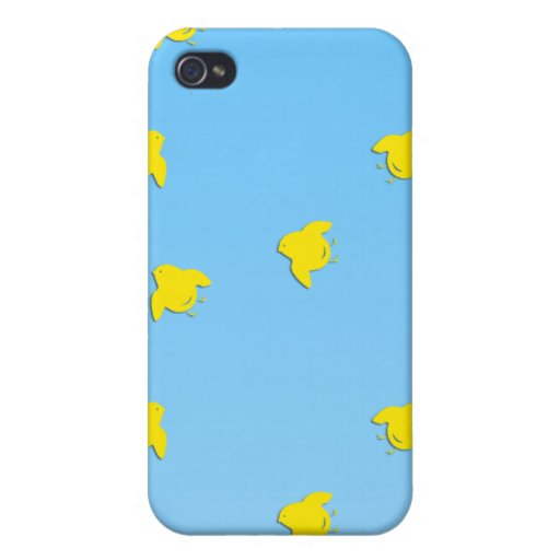 Little Yellow Birdies iPhone Case iPhone 4/4S Cases