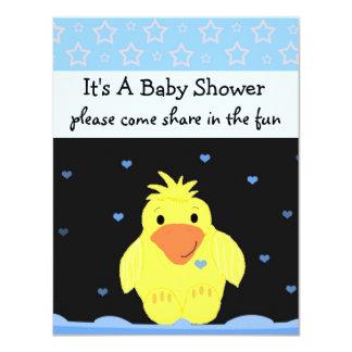 Little Yellow Duck Baby Shower Card