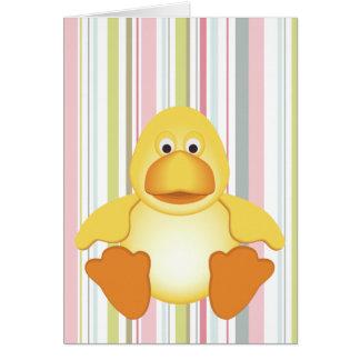 Little Yellow Duck Card