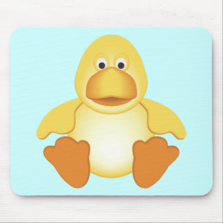 Little Yellow Duck Mouse Pad