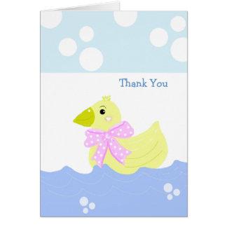 Little Yellow Duck Thank You Card