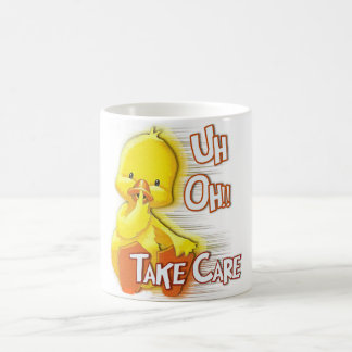 "LITTLE YELLOW DUCKIE ""TAKE CARE""/GET WELL MUG"