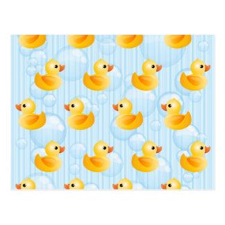 Little Yellow Ducks Postcard